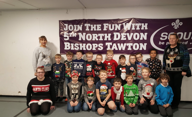 BEAVERS FUNDRAISING CHRISTMAS JUMPER & PARTY FUN!