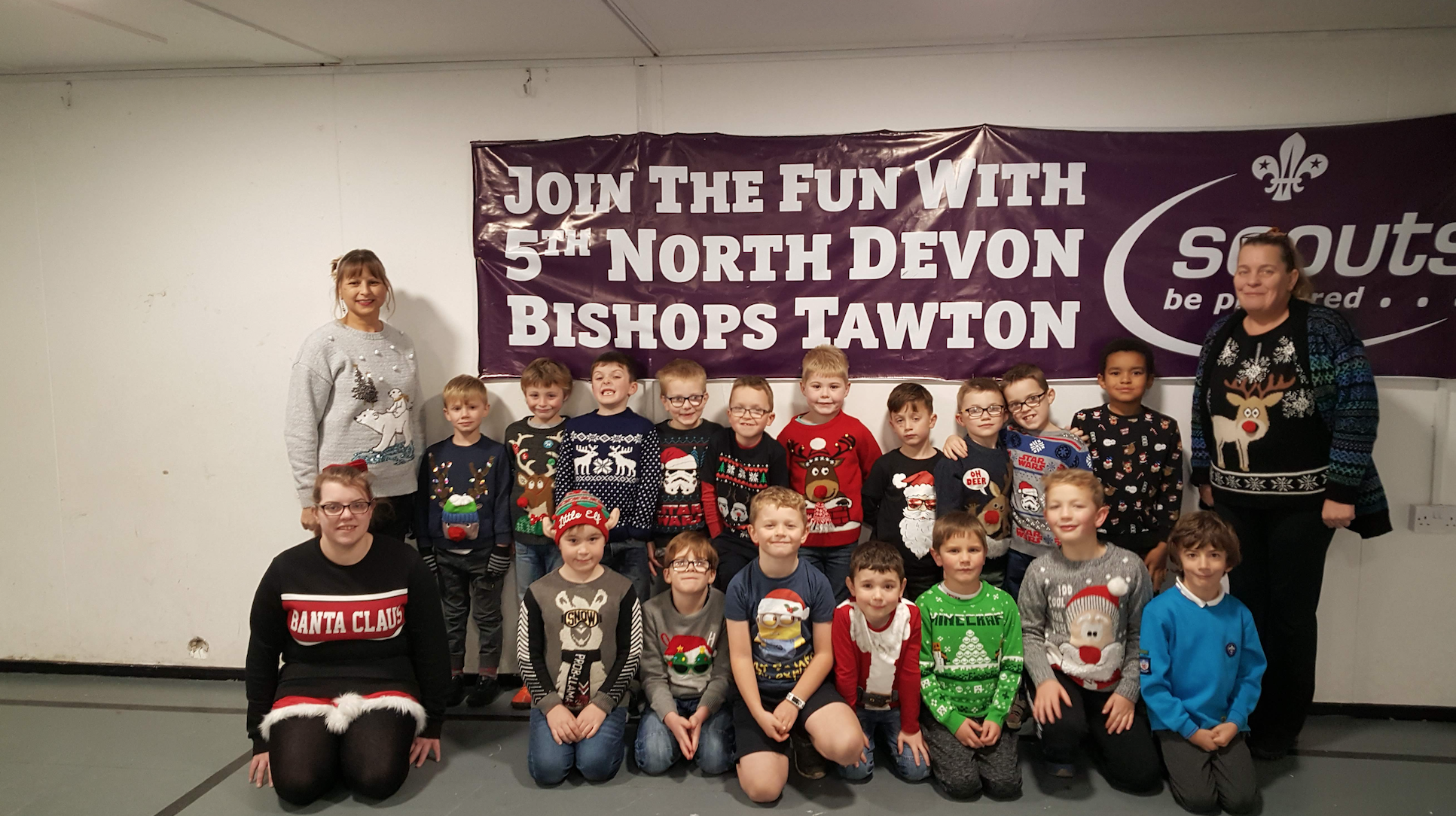 Our Beavers enjoyed a session of festive-fun wearing their Christmas jumpers and savoring lots of healthy and delicious snacks. They played old fashioned games and did some crazy dancing before their party snacks and drinks. The Beavers & Leaders all looked great in their jumpers ranging from Rudolph, Snowmen, Cute Polar Bears and Santa to […]